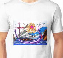 VIKING BOAT Unisex T-Shirt