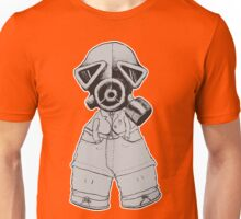 Gas Mask Boy Unisex T-Shirt