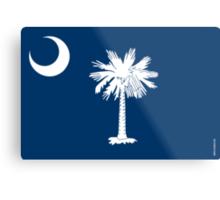 South Carolina State Flag Metal Print