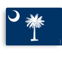 South Carolina State Flag Canvas Print