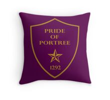 Pride of Portree Throw Pillow