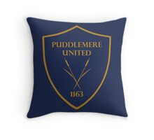 Puddlemere United Throw Pillow