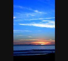 Sunset Ocean Blue Unisex T-Shirt
