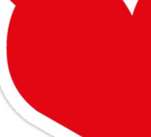 HeartBomb Sticker