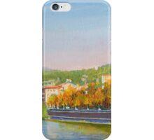 The Adige River in Verona, Italy iPhone Case/Skin
