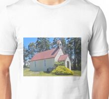 Union Church, Goulds Country, Tasmania Unisex T-Shirt