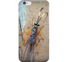 Parasitic Wasp iPhone Case/Skin