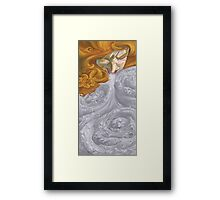 The Woman Who Sneezed Ghosts Framed Print