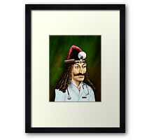 Doctor Acula Framed Print