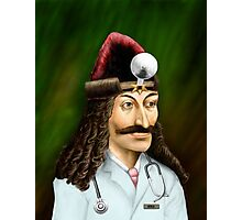 Doctor Acula Photographic Print