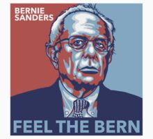Feel the Bern One Piece - Short Sleeve