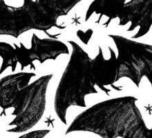 Bat Star Sticker