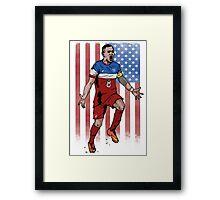 Dempsey USA flag Framed Print