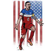 Dempsey USA flag Photographic Print