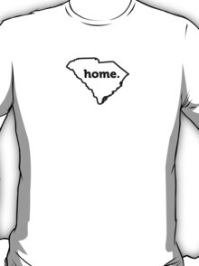 South Carolina State Outline HOME T-Shirt