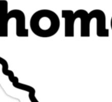 South Carolina State Outline HOME Sticker