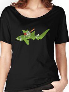 Green Tea Nurse Shark Women's Relaxed Fit T-Shirt