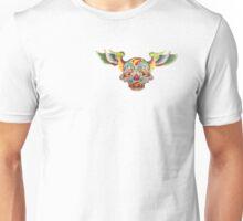 Flying Sugar Skull Unisex T-Shirt