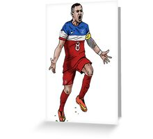Dempsey GOAL! Greeting Card