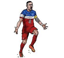 Dempsey GOAL! Photographic Print