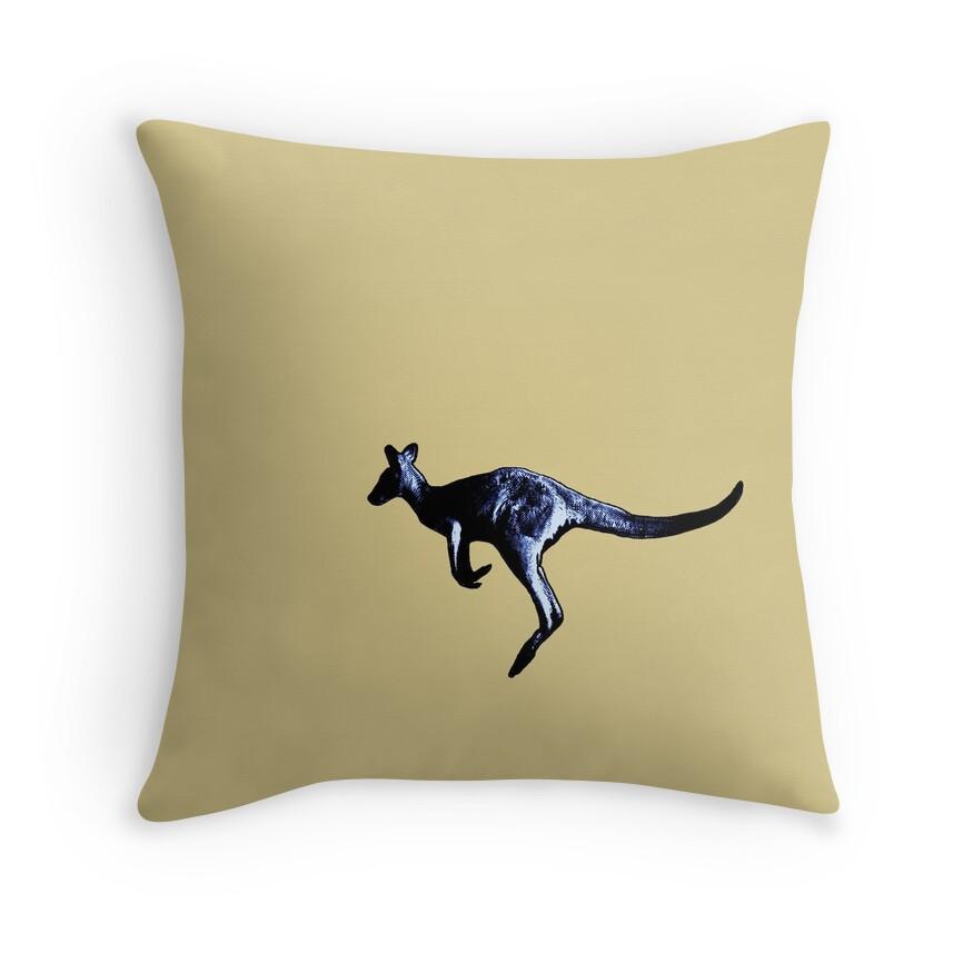 Large Blue Throw Pillows :