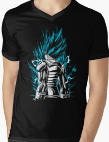 Super Saiyan Vegeta - RB00021 Mens V-Neck T-Shirt
