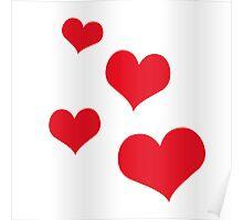 Beautiful hearts Poster