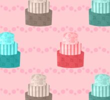 Patterned Cakes STICKER Sticker