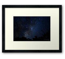 Gumtree Milkway 1 Framed Print