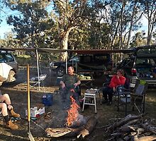 Camp site, Photo by Nick by BigAndRed