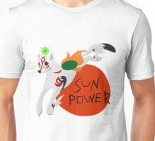 Okami - Sun Power (With Text) Unisex T-Shirt