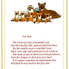 Fox Tale by Kenneth Hoffman