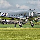 DC3 Take Off - Duxford 2014 - HDR by Colin J Williams Photography