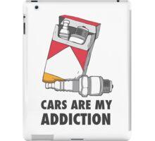 Cars are my addiction iPad Case/Skin