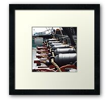 USS CONSTITUTION, BOSTON, MA Framed Print
