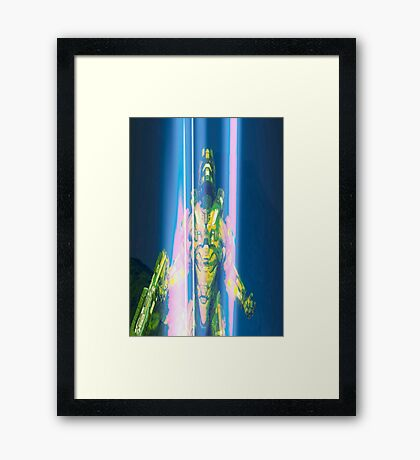 HALO - ASCENDANCY Framed Print