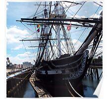 USS CONSTITUTION, BOSTON, MA Poster