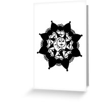 Live by the Sun, Love by the Moon Greeting Card