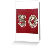 '50' The Accidental Pilgrim Greeting Card