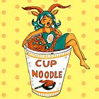 Ms. Cup A Noodle by Marta Tesoro