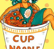 Ms. Cup A Noodle Sticker