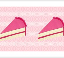 Piece of Cake STICKER Sticker