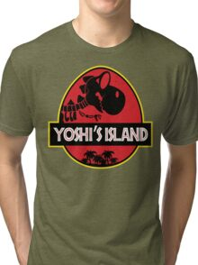 Yoshi's Island (Filled) Tri-blend T-Shirt
