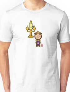 Candelabra and a clock Unisex T-Shirt