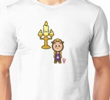 Candelabra and a clock Unisex T-Shirt