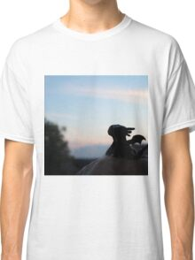 Tiny Toothless watching the sunset. Classic T-Shirt