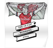 Ramsey FA cup winners Poster