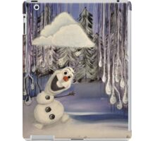 Frozen Concept Art | Olaf's Flurry  iPad Case/Skin