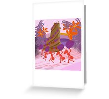 Red Ants Greeting Card