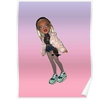 BRATZ DOLL CLOE PUNK GIRL CYBER GIRL  Poster